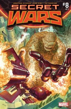 The cover to Secret Wars #8 (2015), art by Alex Ross