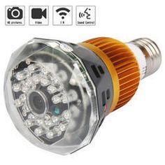 Bulb CCTV Mini Camera