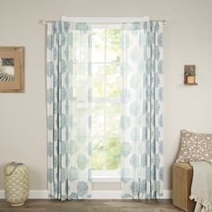With a timeless damask motif and rod pocket top, this lovely curtain brings stately appeal to any space. Try adding it to the master suite to elevate your ensemble, or let it frame your front windows for a stylish way to add privacy.