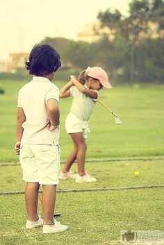Teach them early to win those unclaimed golf $cholar$hips!