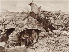 A Windy Outpost on Westhoek Ridge  Frank Hurley, Australia  Military and WarPhotographsWorld War I