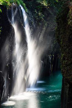 Manai Falls, Takachiho, Miyazaki, Japan