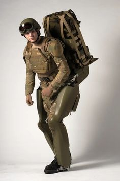 Exoskeleton Suit, Powered Exoskeleton, Boston Dynamics, C Ops, Future Soldier, Smart Outfit, Armor Concept, Body Armor, Military Equipment
