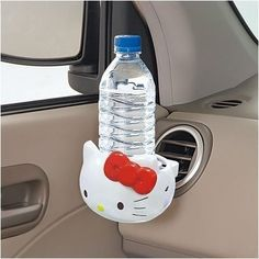 Hello Kitty Bottle/Drink Air Vent Holder