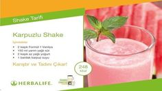 Shake Recipes - Blueberry and Cranberry - Ingredients - 2 scoops of Formula 1 Vanilla - 2 teaspoons Personalised Protein Powder Herbalife 24, Herbalife Meal Plan, Herbalife Shake Recipes, Protein Shake Recipes, Herbalife Nutrition, Protein Smoothies, Watermelon Shake, Watermelon Smoothie Recipes, Yoga Routine