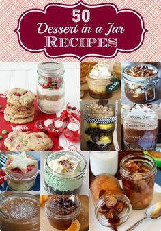 Dessert In A Jar Recipes - 50 Great Ones! Bake & No Bake!