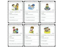 Sencillas fichas para la comprensión lectora para infantil y primer ciclo
