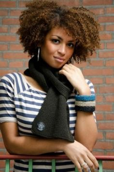 Anna // Natural Hair Style Icon | Black Girl with Long Hair