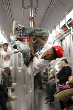 I get so tired of entertainment on the subway. No I do not want to give you a dollar.