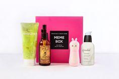 Memebox Korean #spa styled skin care