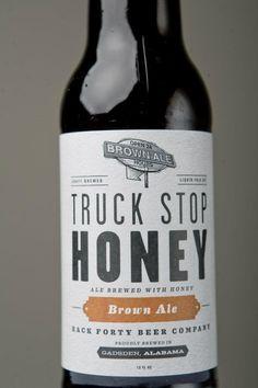 Back Forty Beer Co. Honey Brown Ale