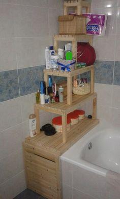 Estantería baño con cajon