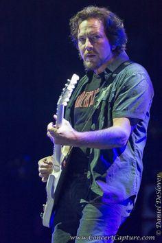 Eddie Vedder of Pearl Jam - 2014 Lightning Bolt Tour in Milwaukee