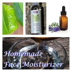 Winter Skin Care: Homemade Face Moisturizer