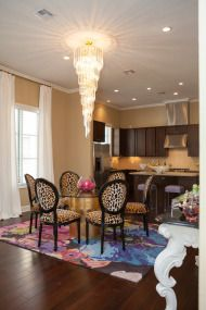 Dallas Home Tour full of Bold Color and Modern Glamour - Style Me Pretty Living