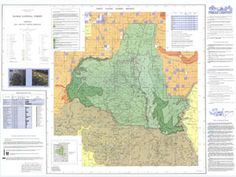 41 Best National Forest and Grassland Maps images