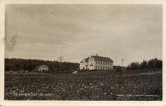 Mysen, folkehøiskolen. Brukt 1920. Foto: Carl Normann