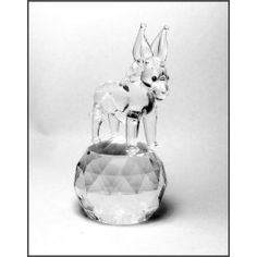 Crystal Donkey, Animal Figurines.This Beautiful Crystal Donkey Ornament is skillfully produced.  This stunning piece is suitable for all occasions including: Birthday Gifts, Christmas, Mother and Fathers Day, Weddings, Engagement Christenings and General Keepsakes.