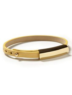 NTS make..Leather skinny bracelet