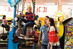 From the coolest video games and high-tech simulator rides to our Skytubes® attraction and kiddie rides for the little ones — we have fun covered.