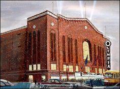 73 Best Olympia Stadium Images Olympia Stadium Detroit