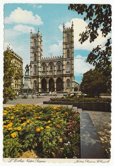Postcards - Canada # 335 - Notre Dame, Montreal, Quebec