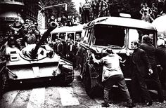 1968 Czechoslovakia | Soviet In Prague Marie Curie, Steve Jobs, Prague Spring, East Germany, Old Paintings, Mahatma Gandhi, Cold War, World Cultures, Audrey Hepburn