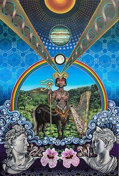The Centaur by Noa Knafo / Sacred Geometry <3