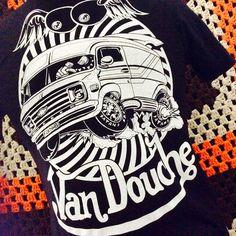 Van Douche shirts from killscumspeedcult.com TAGS; 70s, 60's, Chevy, ford, dodge, g10, fargo, econoline, vannin, magazine, rolling, heavy, custom, cragars, portal, bubble, window, diamond, tear, steering, wheel, old, school, og, von, dudtch, shaggy, interior, carpet, crazy, clothing, tee, sweatshirt, boobs, tits, mural, airbrush, metal, flake, 350, turbo, killscum, naked, hippie, punk, stoner, doom, psychedelic, lava, lamp,
