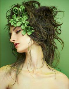 Wallflower: Beauty Editorial by Heidi Niemala for December 2017 Book 2   virtuogenix.online