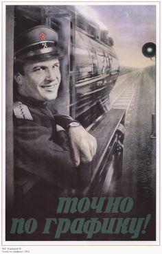 Old poster Stalin Lenin Propaganda poster Soviet by SovietPoster