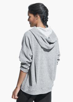 Yoga - Miękka bluza z kapturem