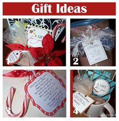 Delightful Order: Teacher/Neighbor Christmas Gift Ideas