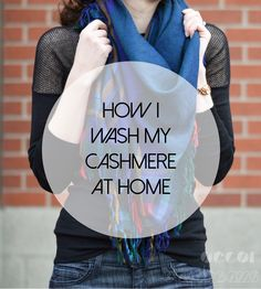 How I save hundreds of dollars a year by hand washing my silk, wool, and cashmere!