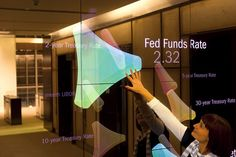 Bank of America Market Data Mirrors by Second Story, via Flickr