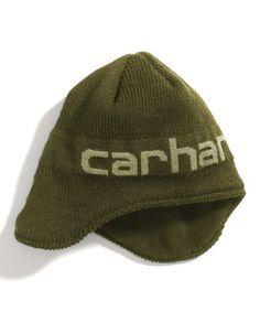 Olive 'carhartt' Earflap Hat