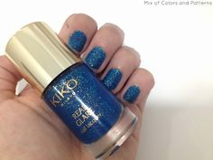 Mix of Colors and Patterns: NOTW: KIKO REAL GLARE 03 Adrenaline Ocean Green