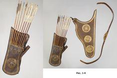 Османский саадак XVI ст. из Немецкого национального музея (№ W1218) [6].