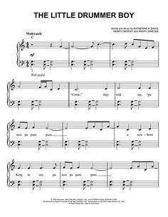 free sheet music and lyrics little drummer boy the