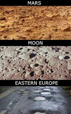 This should be Mars Moon.Romania literally every road in the whole country.thats if there is a riad to begin with😂😂😂 Funny Relatable Memes, Funny Texts, Funny Images, Funny Pictures, Fart Humor, Wtf Moments, Special Characters, Anime Ships, Worlds Of Fun