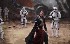 Star Wars, Yana Kharlamova on ArtStation at https://www.artstation.com/artwork/N8Elg