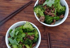 Beef + Broccoli Stirfry - @Felicity Swarts she has all sugar-free recipes!