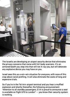 Israeli Airport Security Device