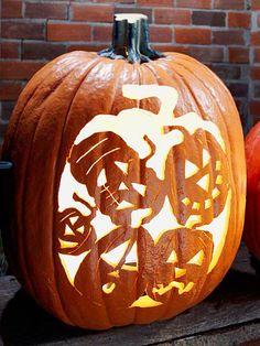 Five Faces Pumpkin