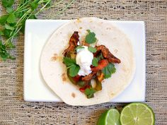 oven fajitas (why fuss over the stove...just pop it all in the oven)