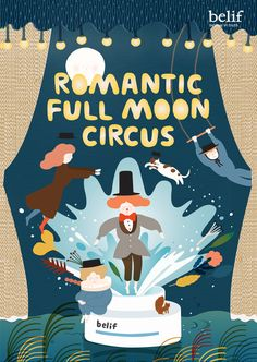 romantic pull mooon circus