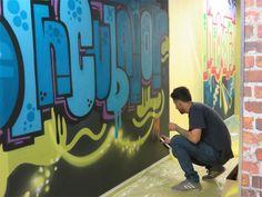 Graffiti for creativity | Rosebank Killarney Gazette