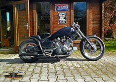 "XV 750 SE ""Black Pig"""