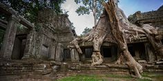 "Kambodscha: ""Temple Running"" in Angkor Wat Angkor Wat, Mount Rushmore, Running, Mountains, Nature, Cambodia, Temple, Photo Illustration, Racing"