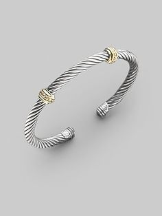 Cable Clics Bracelet With Onyx And Gold By David Yurman At Neiman Marcus Mine Is Similar To This All My Pretty Things In 2018 Pinterest Jewelry
